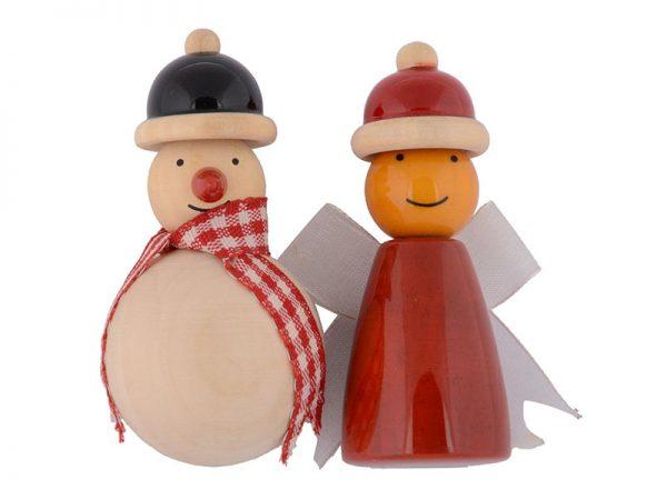Snowman & fairy Fridge magnets 1