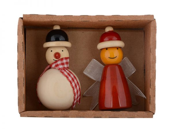 Snowman & fairy Fridge magnets 2