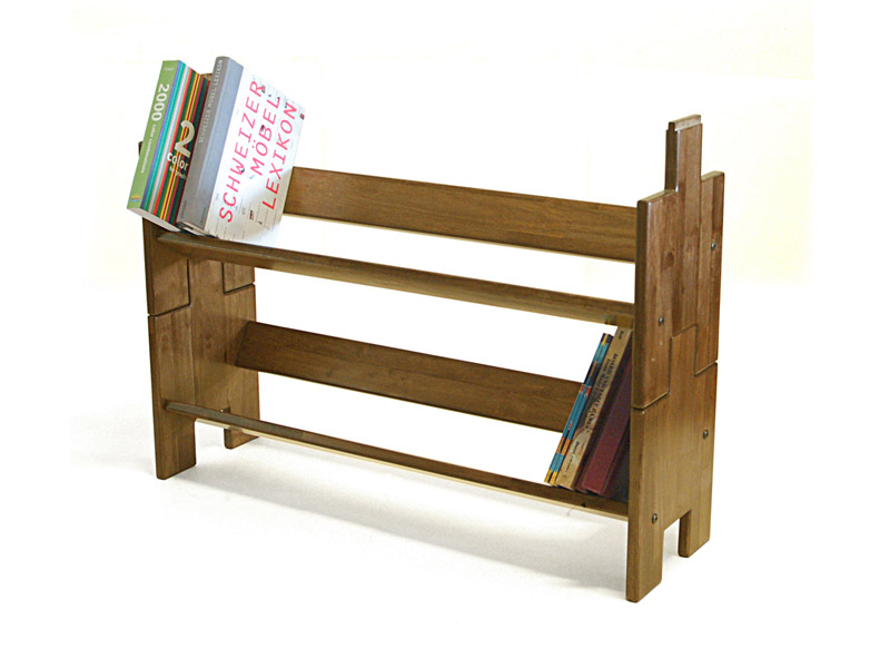 Wondrous The Paperback Writer Wooden Stackable Book Shelf Walnut Colour Home Interior And Landscaping Dextoversignezvosmurscom